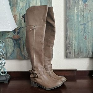 JustFab Paxa Over the Knee Boots